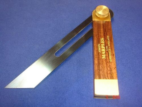 "Joseph Marples Rosewood Carpenters Sliding Bevel 190mm 7.1/2"" Sheffield 20D"